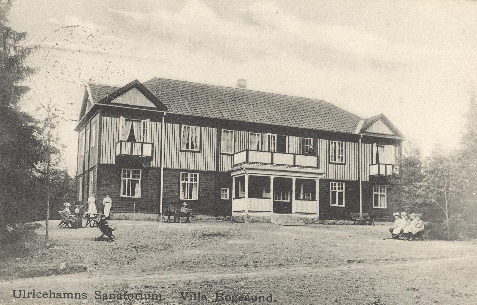 Villa Bogesund, Ulricehamns Sanatorium